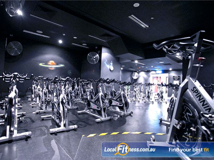 Goodlife Health Clubs Adelaide City Gym Hindmarsh  | Burn calories fast with Adelaide spin cycle classes.