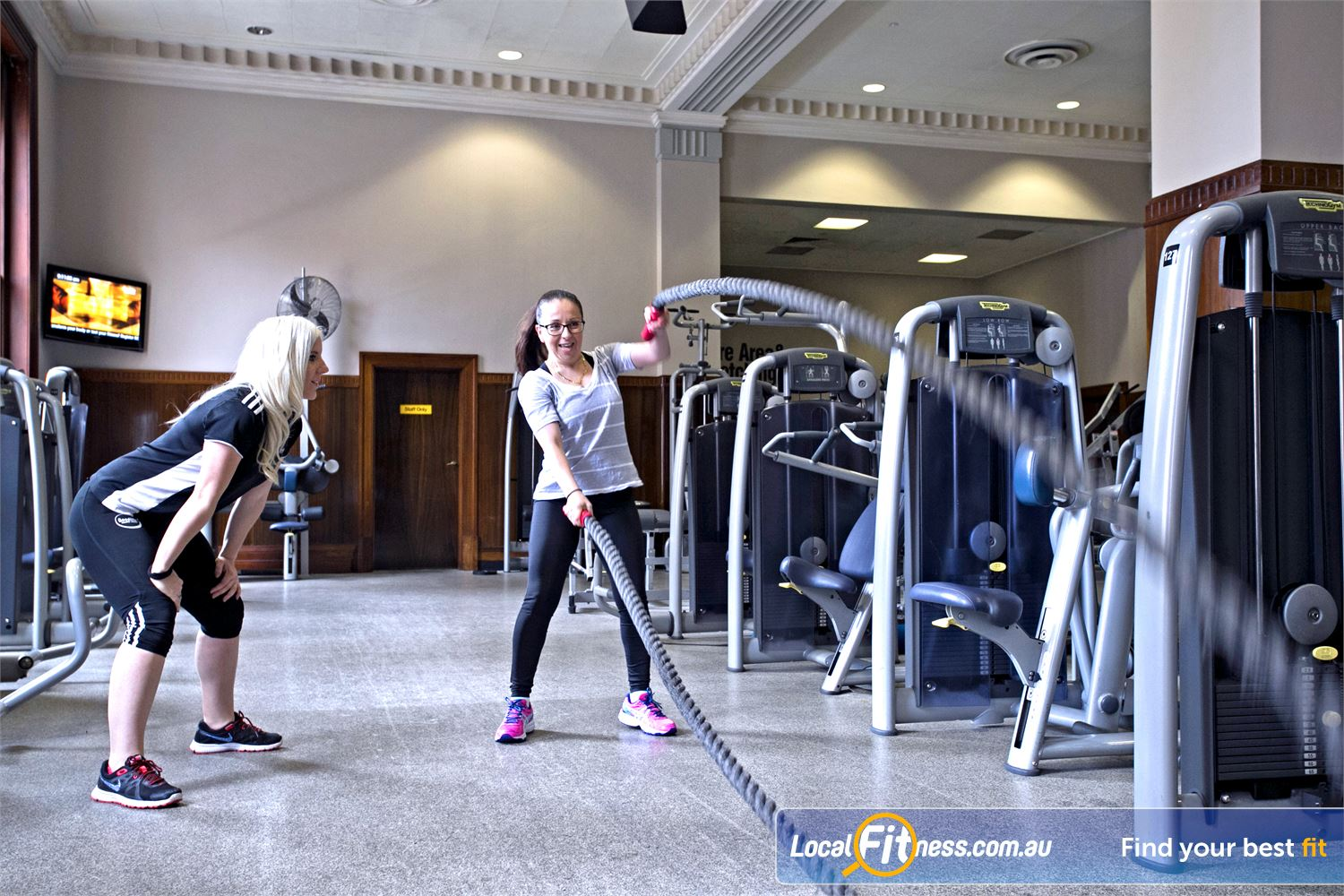 Goodlife Health Clubs Adelaide City Adelaide Fast track your results with Adelaide personal training.