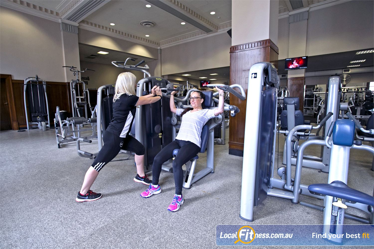 Goodlife Health Clubs Adelaide City Adelaide Get the right advice on training from our Adelaide gym team.