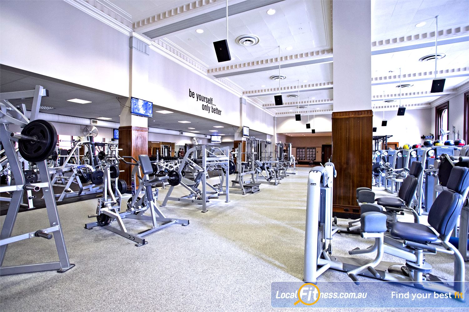 Goodlife Health Clubs Adelaide City Adelaide Enjoy training in our naturally lit Adelaide gym.