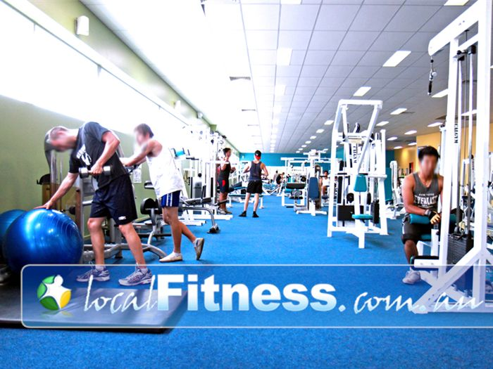 Zone Fitness Dandenong Large open space Dandenong gym with natural lighting