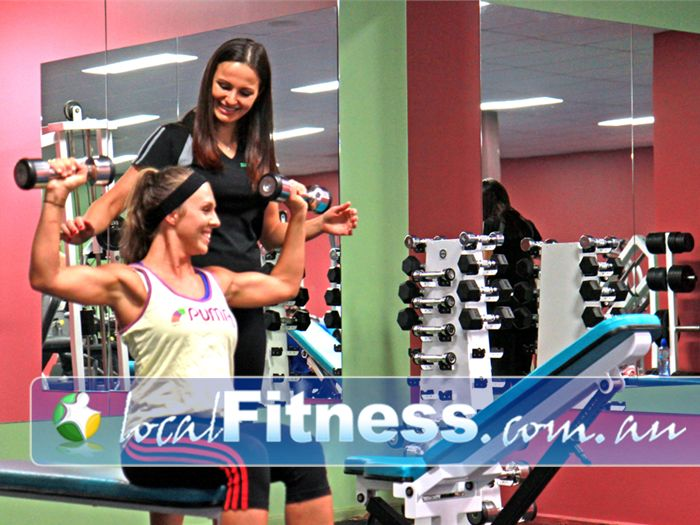 Zone Fitness Near Eumemmerring A private Dandenong ladies gym area.