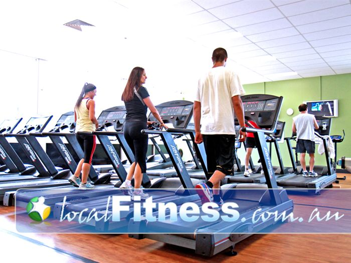 Zone Fitness Near Doveton Over 30+ pieces of the latest cardio equipment.