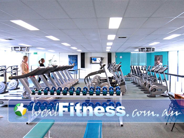 Fernwood Fitness Epping The spacious Epping gym floor for women.