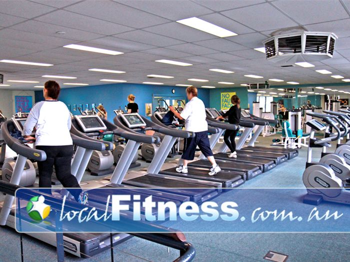 Fernwood Fitness Near South Morang Vary your workout with our HUGE range of the latest TechnoGym cardio.