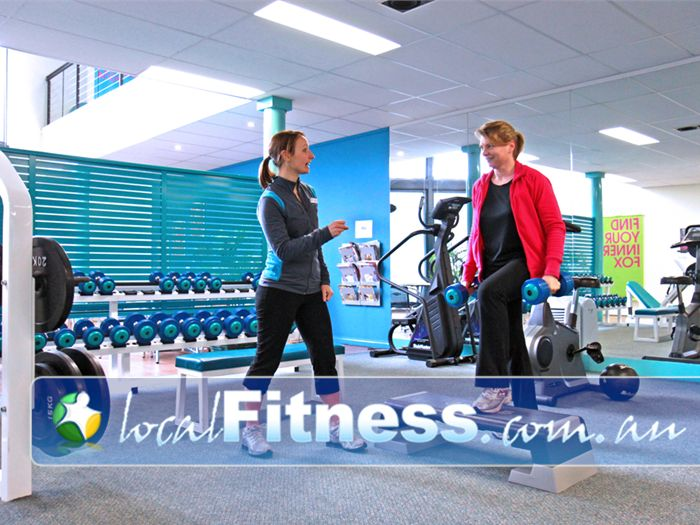 Fernwood Fitness Epping Experience qualified exercise advice by our team at Fernwood Epping.