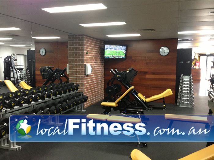 Create Fitness 24/7 24 Hour Gym Newstead  | Extra strength training equipment which you don't find