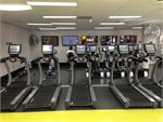 Dedicated cardio area with state of the art