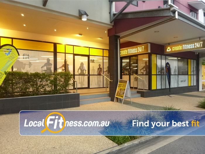 Create Fitness 24/7 Toombul Gym Fitness Create Yourself at Create