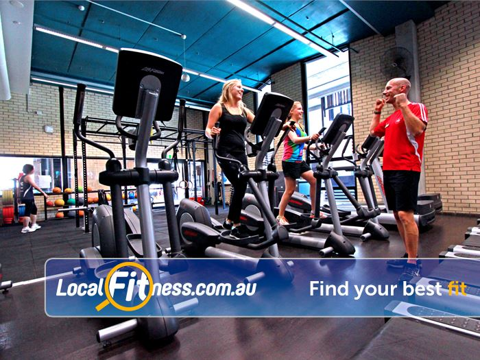 Burwood Fitness Centre Gym Wantirna South    Our Burwood gym includes a great selection of
