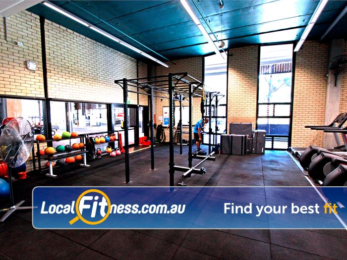 Burwood Fitness Centre Burwood Get functional in our dedicated functional training space.