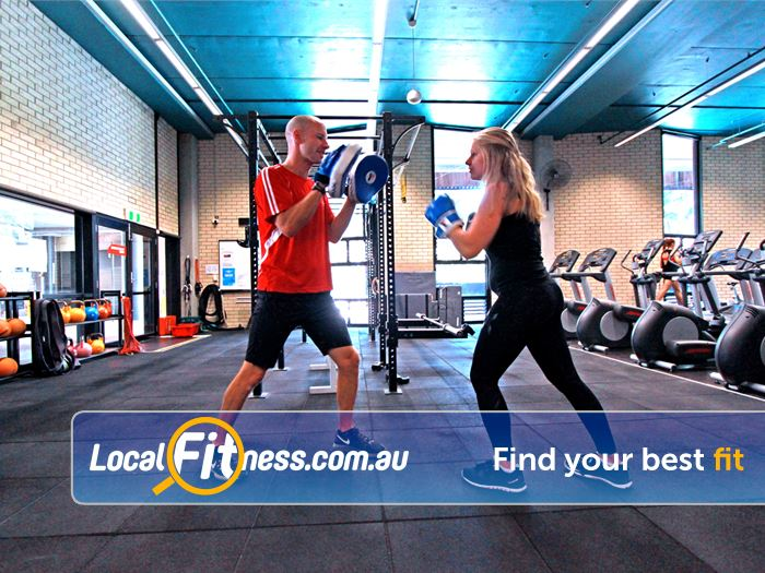Burwood Fitness Centre Burwood Burwood personal trainers can add boxing into your routine.