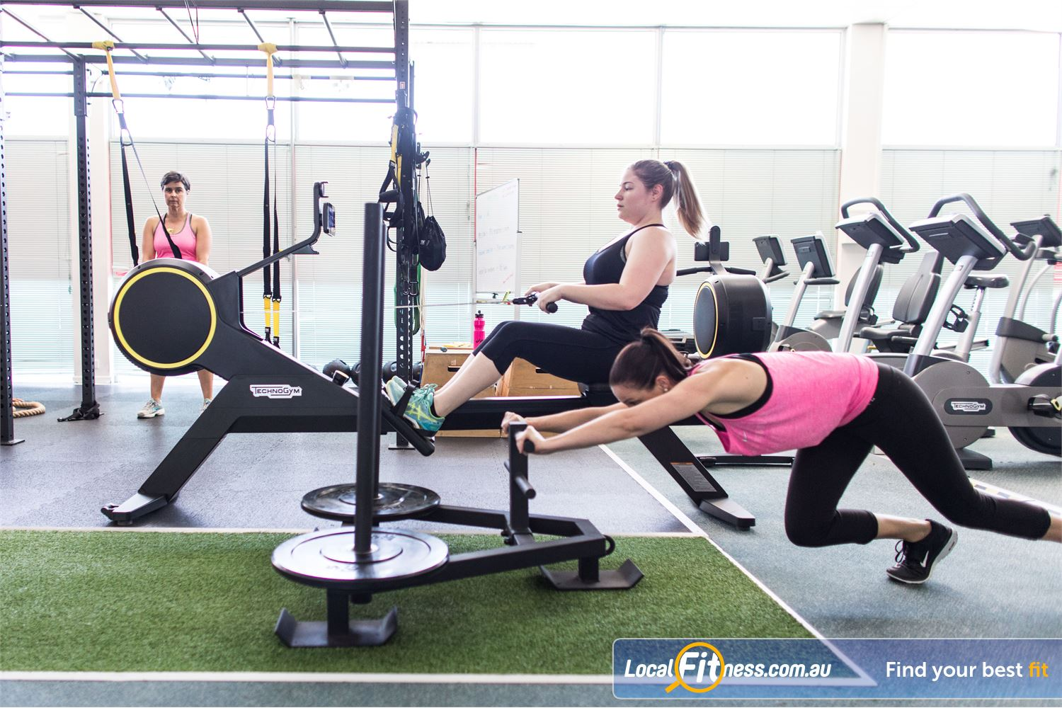 Fernwood Fitness Everton Park The Fernwood Everton Park gym provides a fun and friendly training facility.