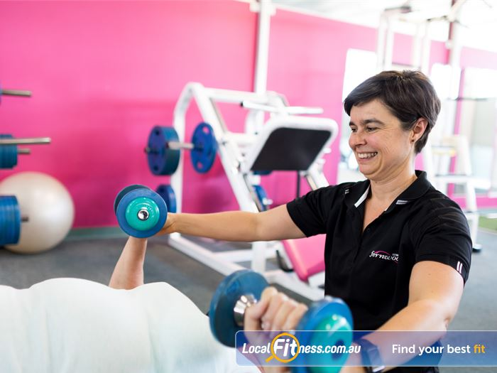 Fernwood Fitness Gym Fortitude Valley  | Member Motivators are always on the floor to
