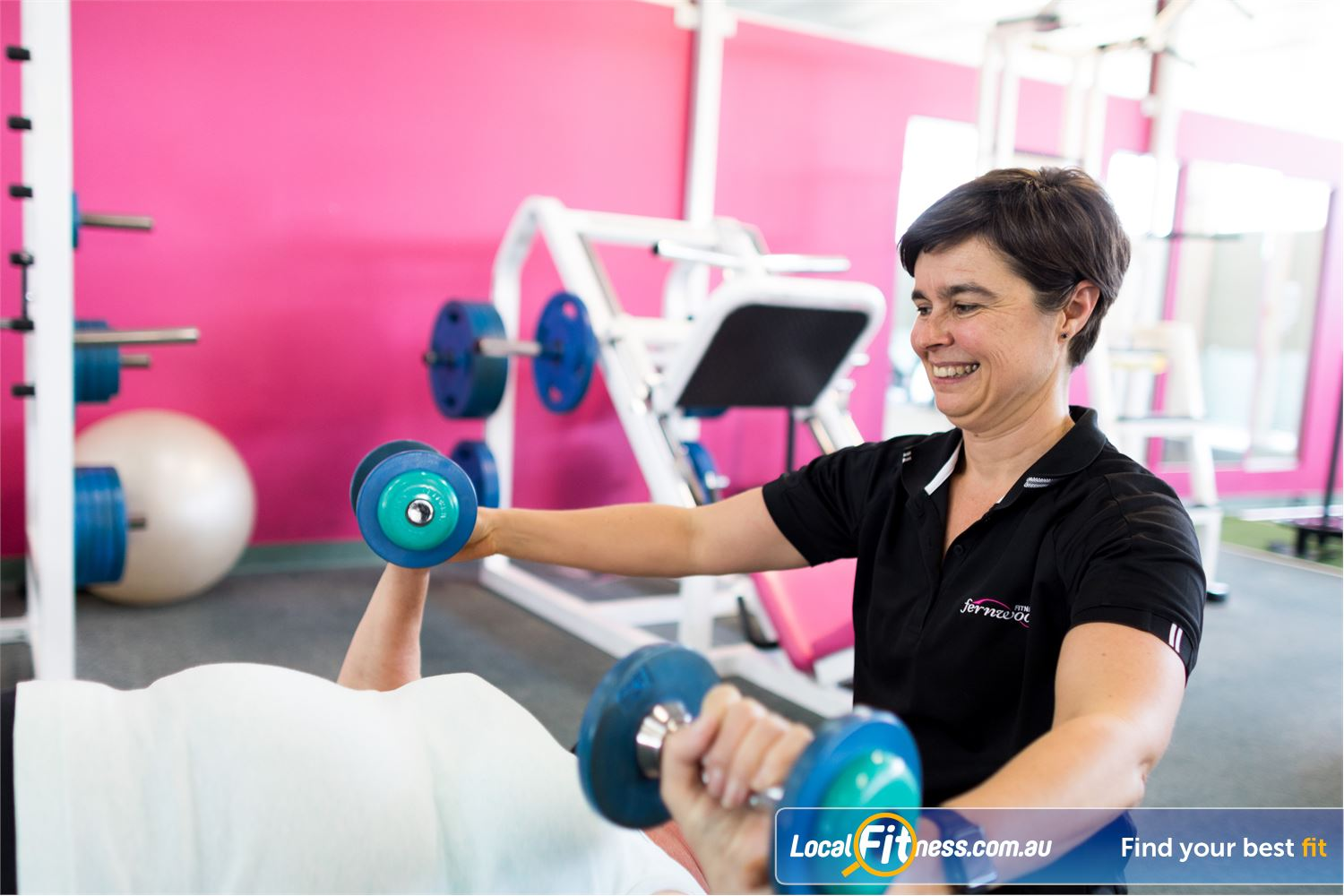 Fernwood Fitness Near Mcdowall Our Everton Park gym team can help you with getting results.
