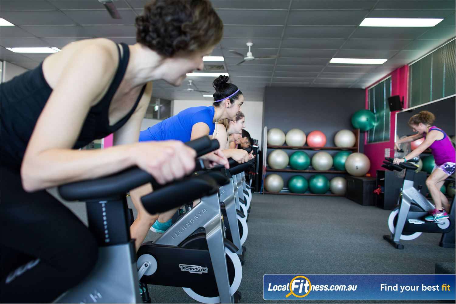 Fernwood Fitness Near Mcdowall Burn calories fast with our Everton Park spin cycle classes.