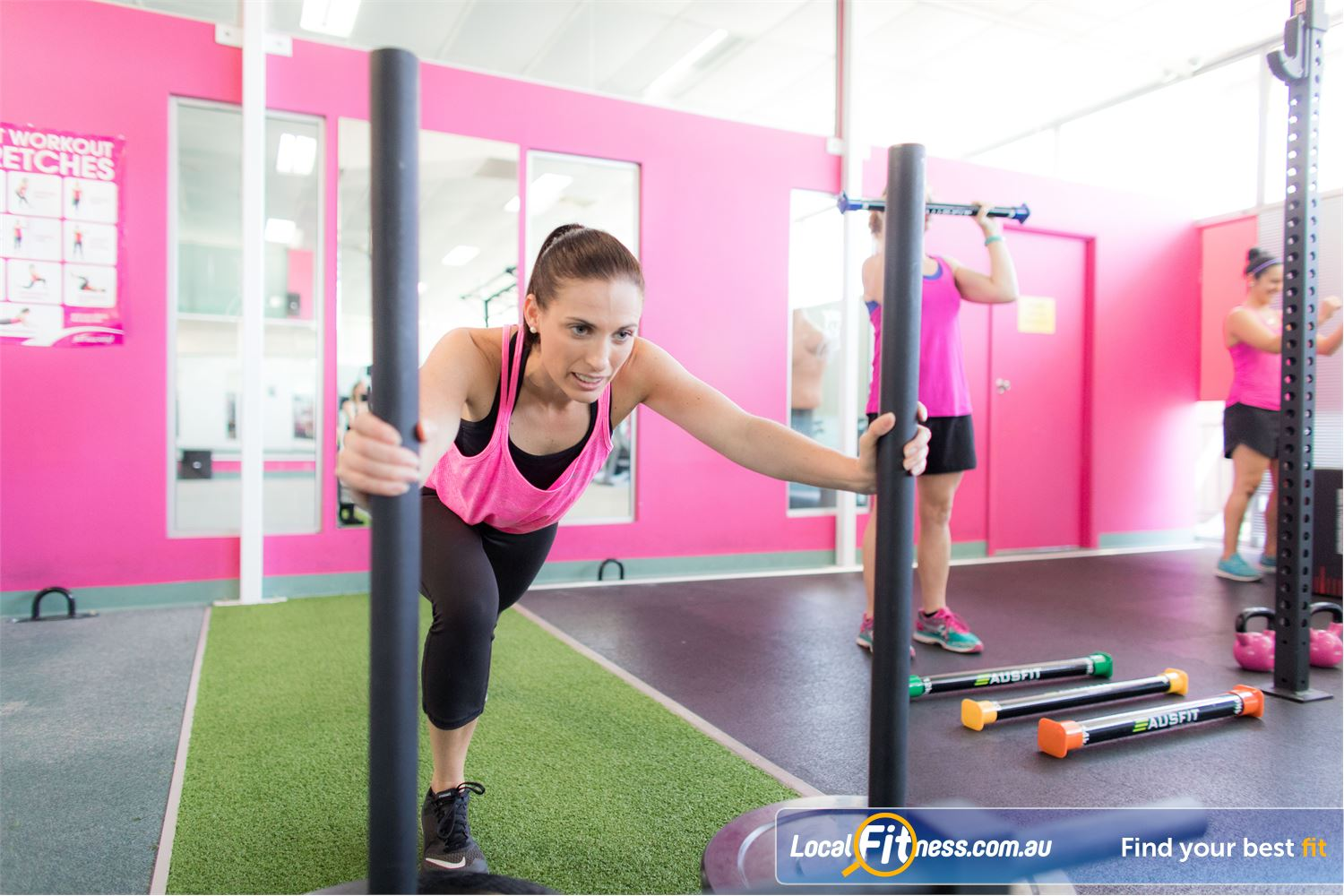 Fernwood Fitness Near Mitchelton Get into functional training in our Everton Park HIIT gym.