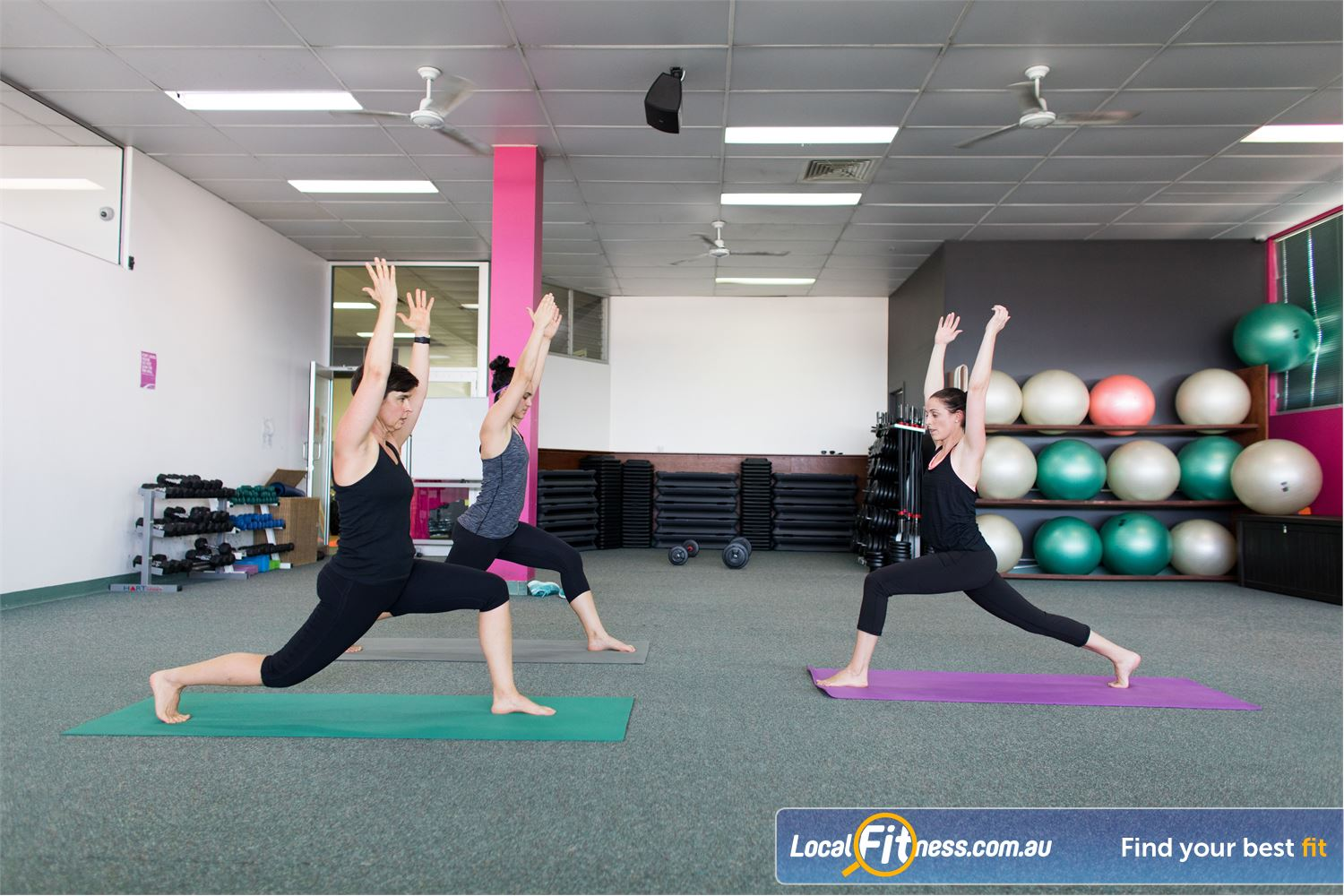 Fernwood Fitness Near Mcdowall Popular classes such as Pilates and Everton Park Yoga run throughout the week.