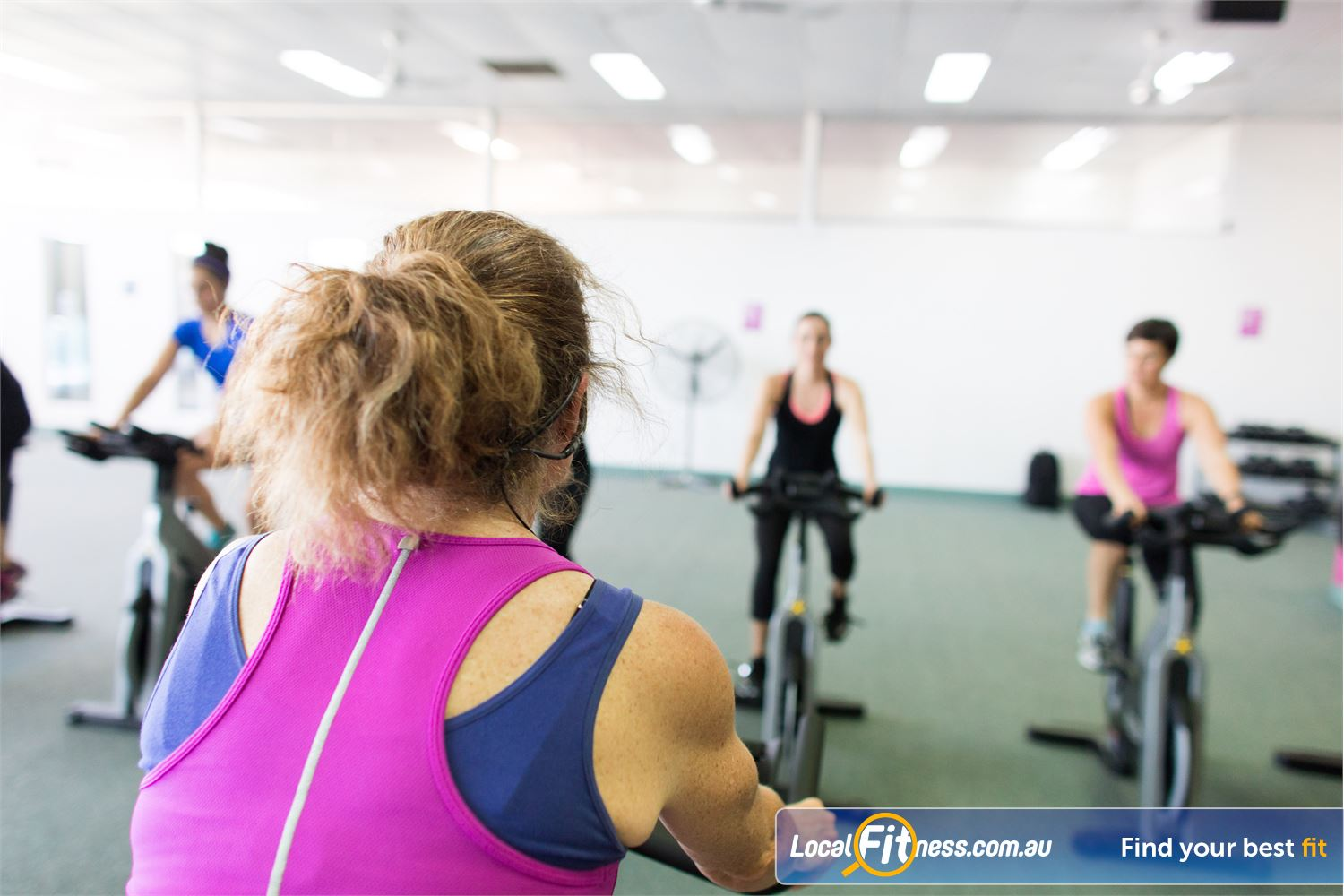 Fernwood Fitness Near Mitchelton Music to encourage you to get moving during Everton Park spin cycle classes.