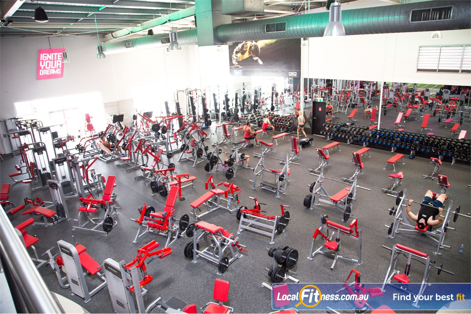Goodlife Health Clubs Near Mango Hill Our Rothwell gym is fully equipped with the best equipment.