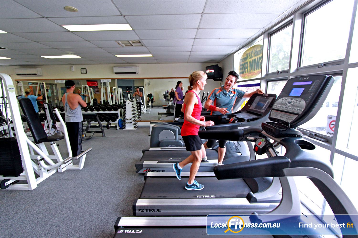 Yarra Recreation Centre Near Millgrove Yarra Junction gym instructors can help design a cardio program for weight-loss.