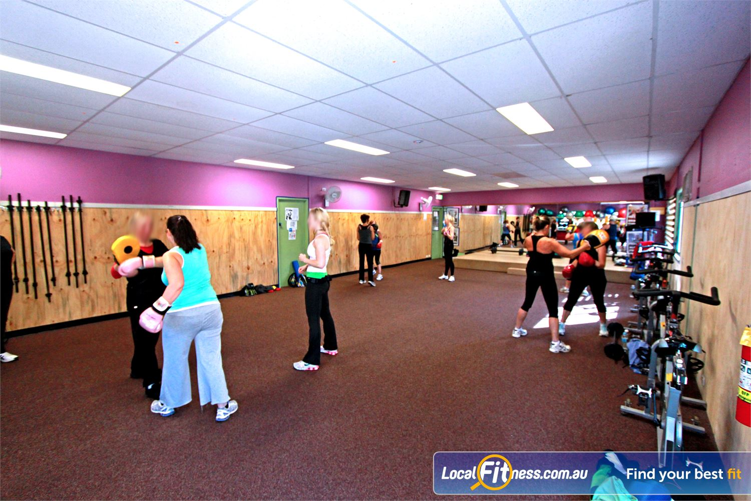 Yarra Recreation Centre Near Warburton High energy classes including boxing and Yarra Junction BodyAttack.