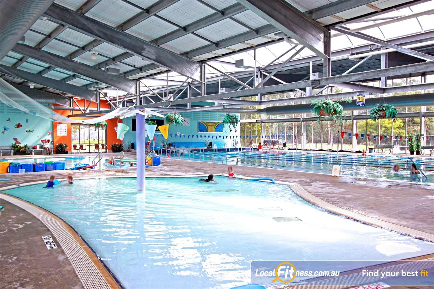 Yarra Recreation Centre Yarra Junction The Toodler pool includes water features for children