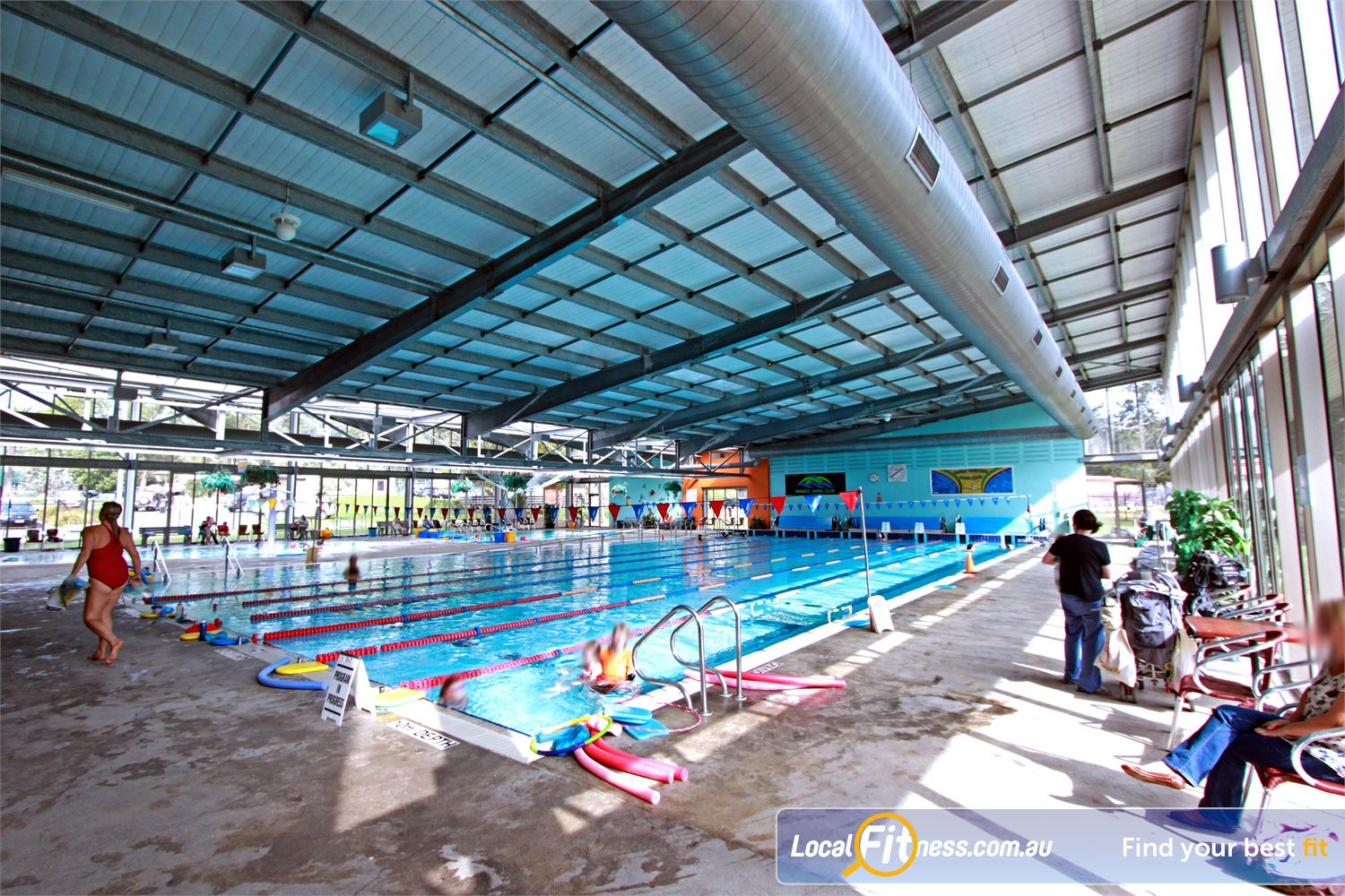 Yarra Recreation Centre Yarra Junction Perfect for lap lane swimming.