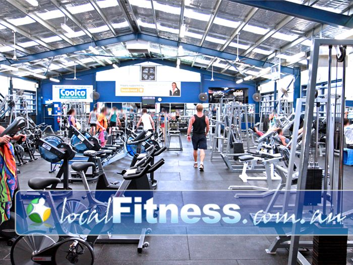 PCYC Gold Coast Gym Runaway Bay  | Our Gold Coast gym free-weights area is fully