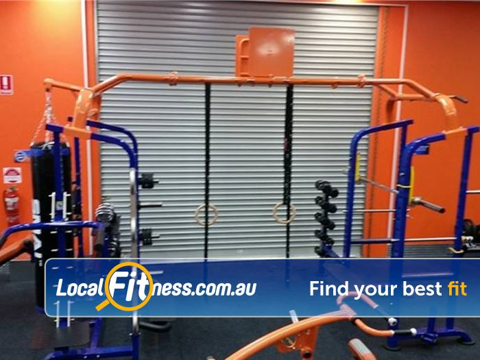 Plus Fitness 24/7 Gym Mermaid Waters    Get functional in our functional training zone.