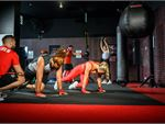 Our 9Round Bowen Hills gym combines functional kickboxing