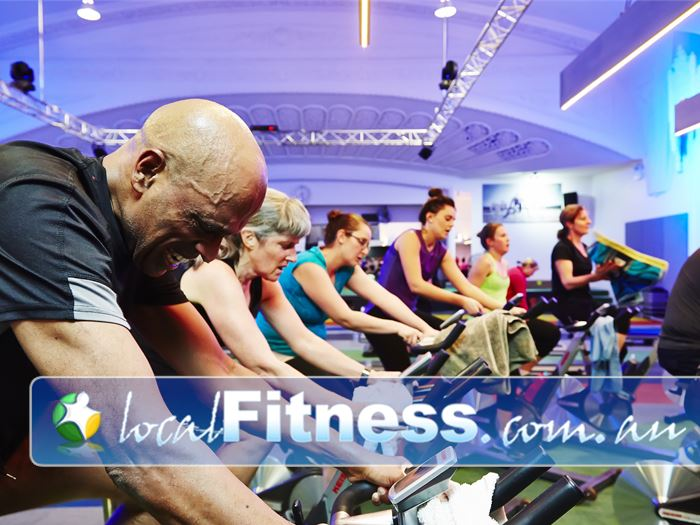 D-Club247 Fitness Bendigo High energy cycle classes will get your body pumping.