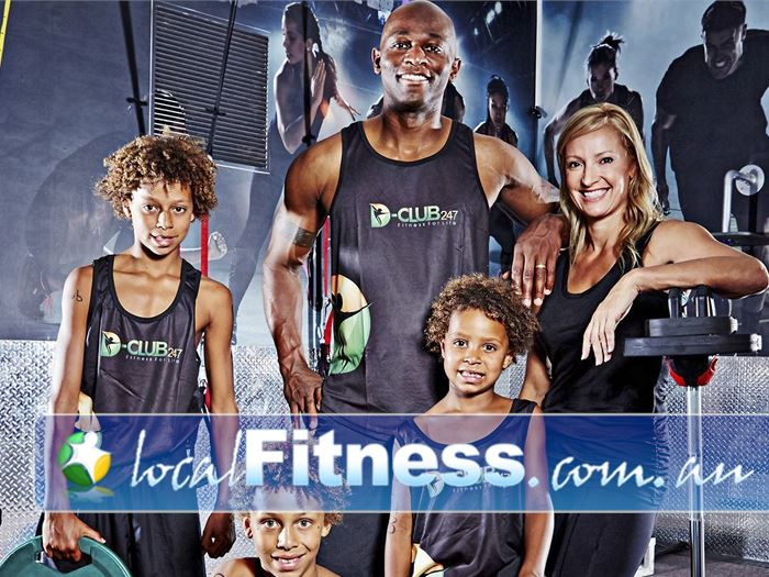 D-Club247 Fitness Bendigo D-Club247 is inspired by the Daniels family's way of life.