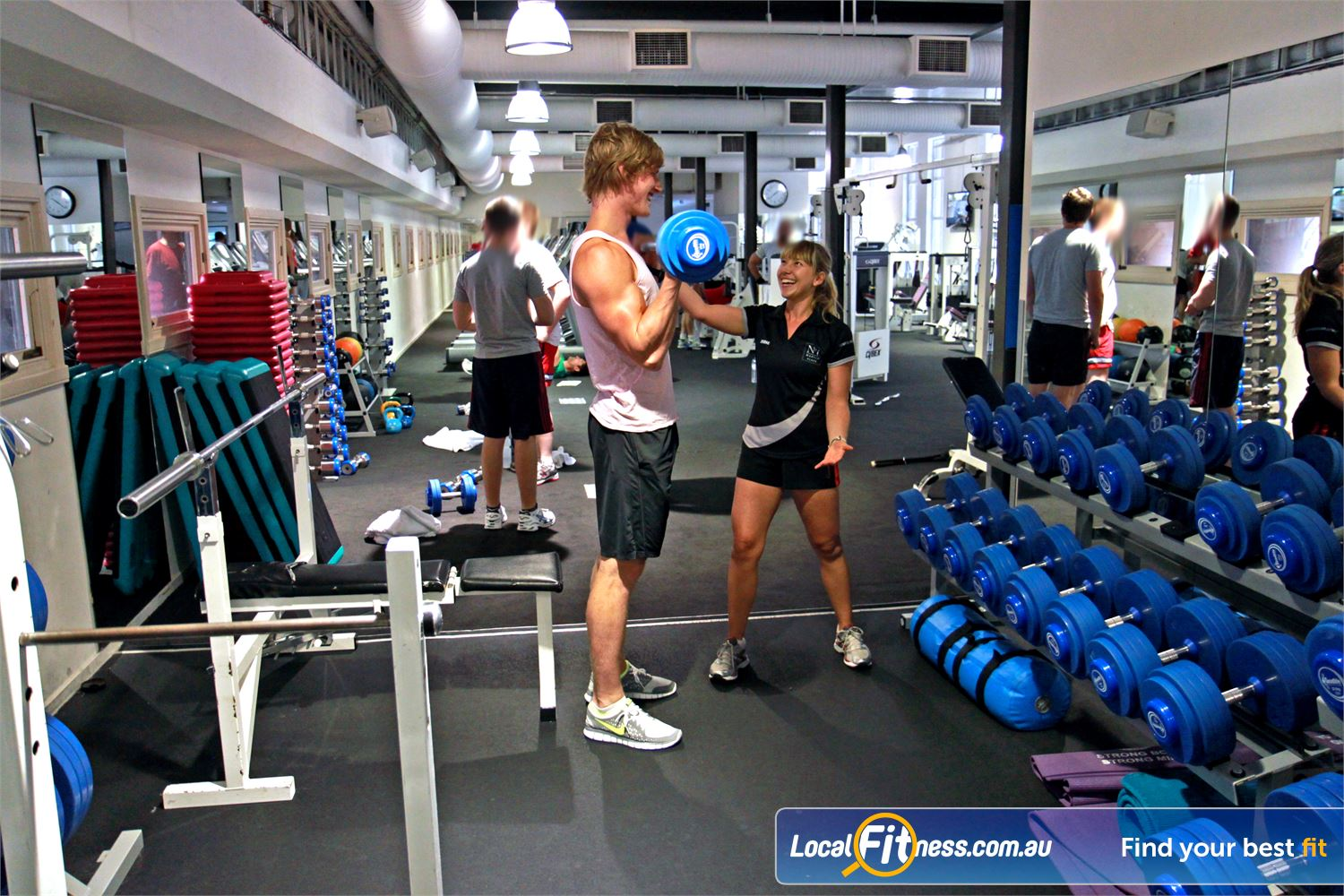 Goodlife Health Clubs Martin Place Sydney Our Sydney Martin Place gym includes a comprehensive range of dumbbells and barbells.