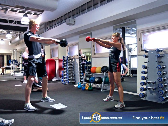 Goodlife Health Clubs Martin Place Gym Darlinghurst  | Sydney gym instructors can tailor your free-weights workout