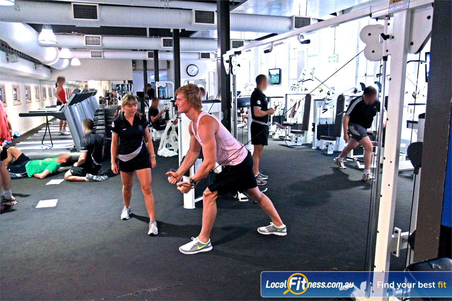 Goodlife Health Clubs Martin Place Near Alexandria Mc The spacious Goodlife Sydney gym is located in the heart of corporate Sydney.
