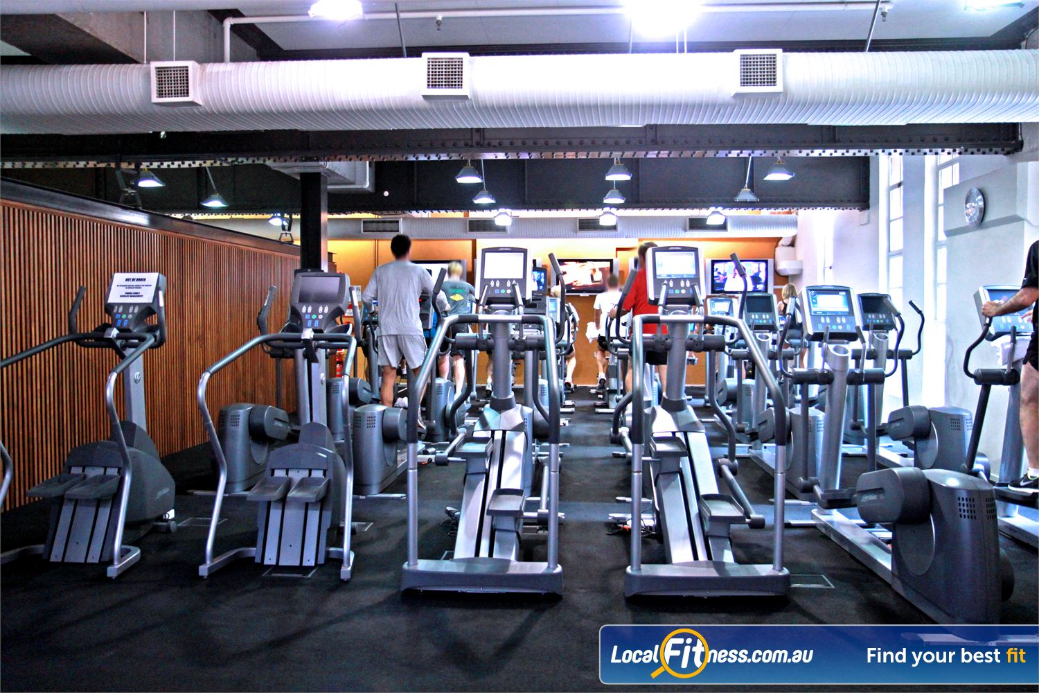 Goodlife Health Clubs Martin Place Near Strawberry Hills Our exclusive Sydney gym provides state of the art cardio from Life Fitness.
