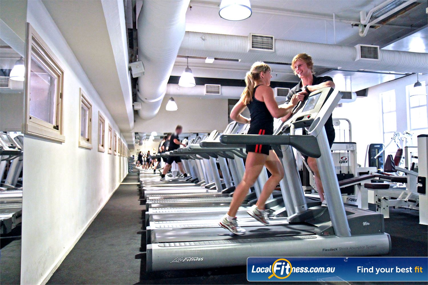 Goodlife Health Clubs Martin Place Sydney Our friendly Sydney Martin Place gym staff can help you with your cardio training.