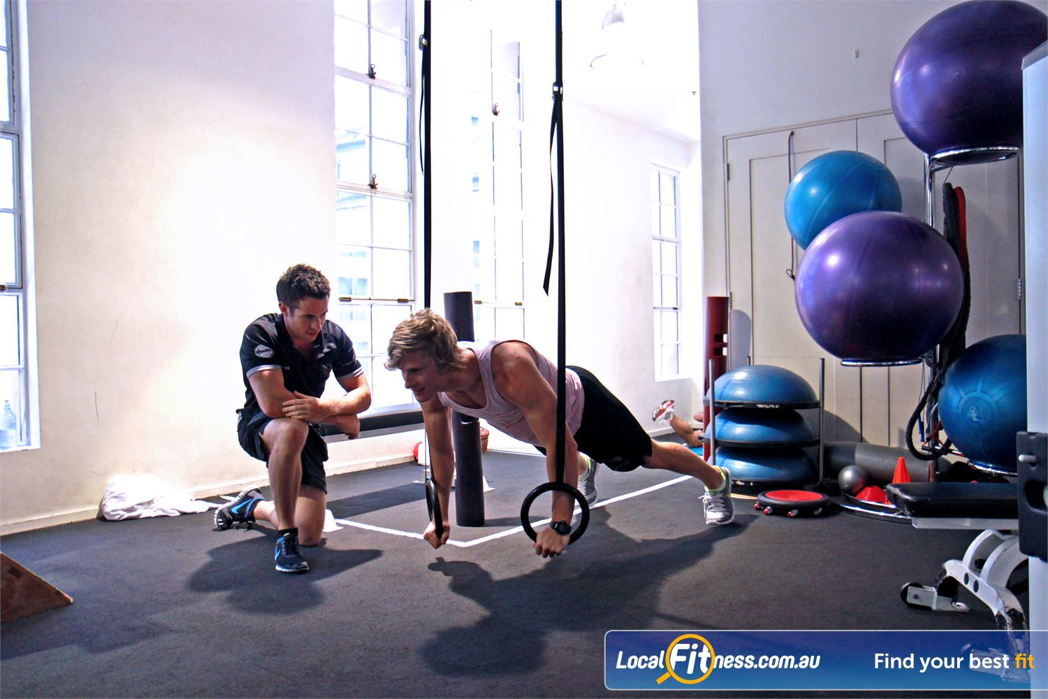 Goodlife Health Clubs Martin Place Near Alexandria Mc Our Sydney personal training team are knowledgeable in strength training.