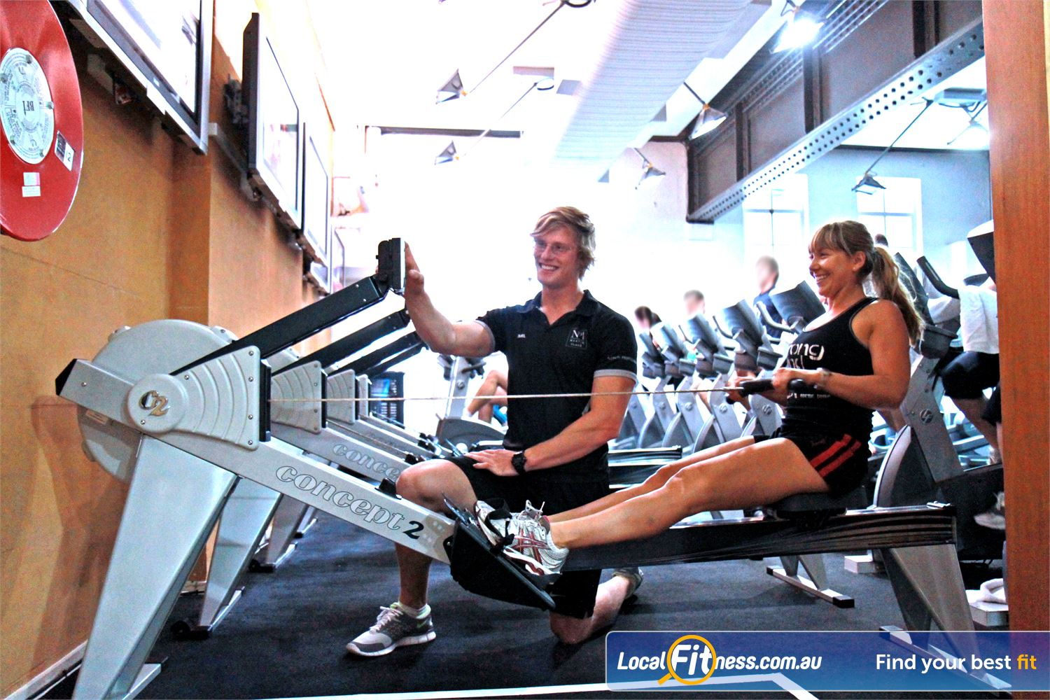 Goodlife Health Clubs Martin Place Near Strawberry Hills Our Sydney gym provides variety, with treadmills, cross-trainers, rowers and more.