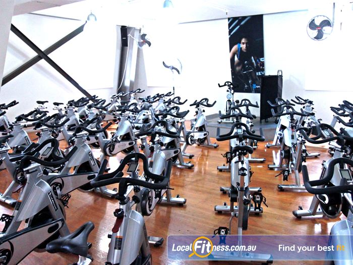 Goodlife Health Clubs Martin Place Alexandria Mc Gym Fitness Dedicated Sydney spin cycle