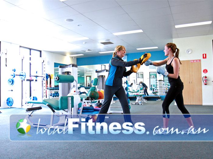Fernwood Fitness Near Moonee Ponds Moonee Ponds personal trainers can vary your workout to include cardio boxing.