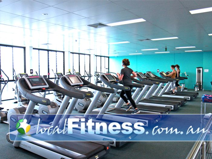Fernwood Fitness Near Maribyrnong Luxury training with personal entertainment units on our machine.