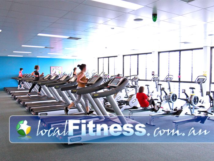 Fernwood Fitness Ascot Vale Fernwood Moonee Ponds gym provides a spacious cardio area.