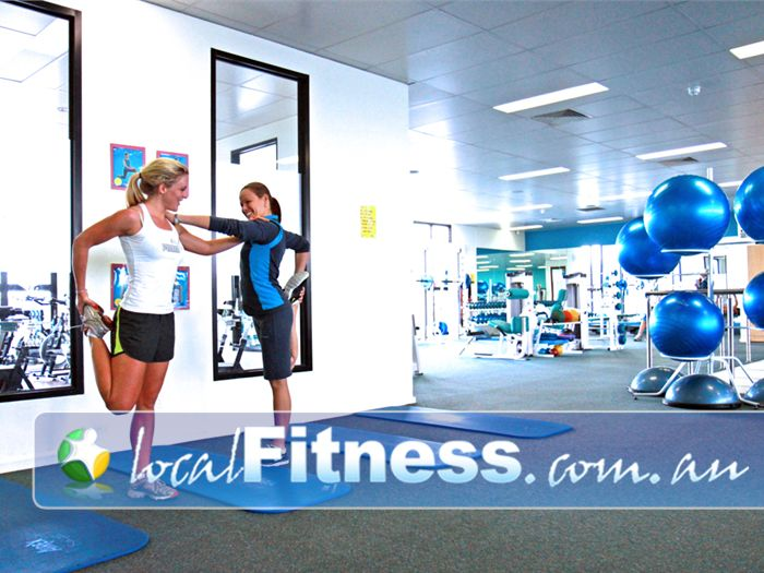 Fernwood Fitness Ascot Vale Fernwood Moonee Ponds provides a dedicated ab and stretching area.
