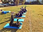 Step into Life Prahran Outdoor Fitness Outdoor Keep motivated by working as a