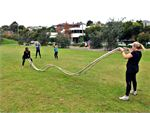 Step into Life Prahran Outdoor Fitness Outdoor Step into Life outdoors in the