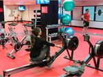 Fitness First Platinum Walker St North Sydney Gym Fitness Indoor sled track, rowers,