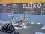 The dedicated powerlifting area in our Auburn gym.