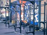 Our Auburn gym includes a hi-performance strength cage.